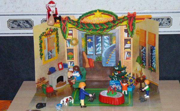Decoration De Noel Pour Playmobile