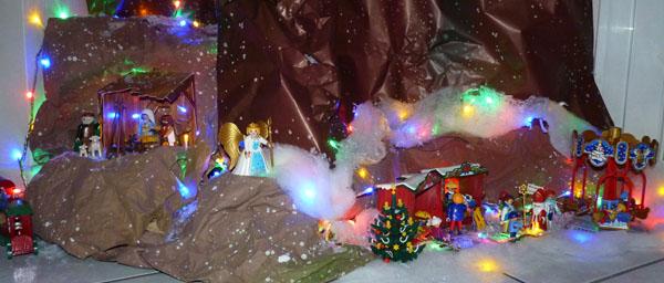 Decor De Noel Theme Playmobil