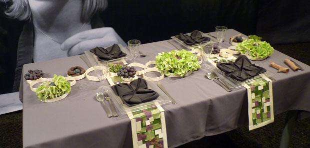 Id es d co originales avec des fleurs folie flore mulhouse 2011 - Faire une belle table ...
