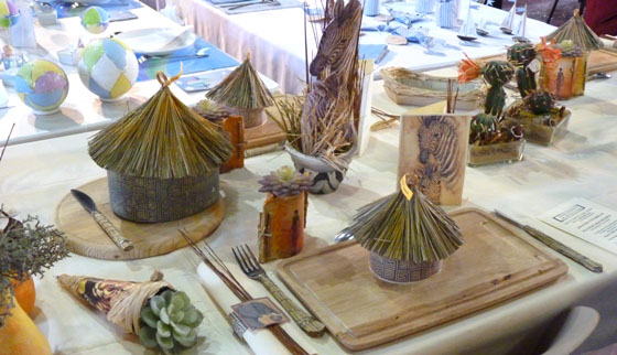 Favorit Créativa Metz 2010 : achats pratiques et décoration de table – photos OO32