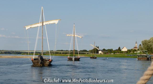 toues sur la Loire