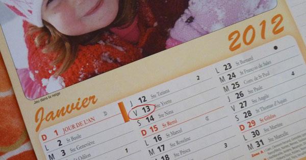 Vendredi 13 et autres superstitions y croyez vous for Le numero 13 porte malheur