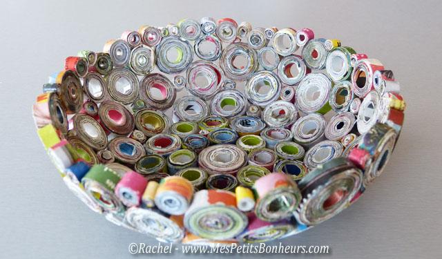 Vide poche en papier recycl id e bricolage pour la f te des p res - Ou acheter du papier cadeau ...