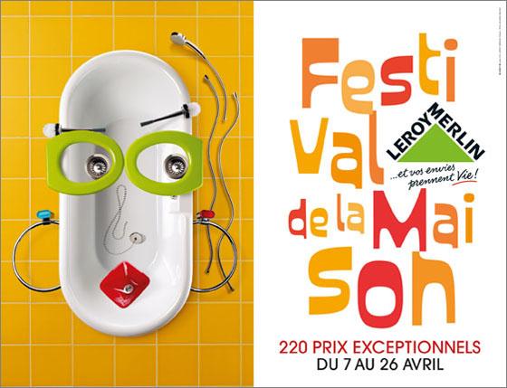 Art visuel d tournement d 39 objets pour des visages id e bricolage - Musique pub leroy merlin ...